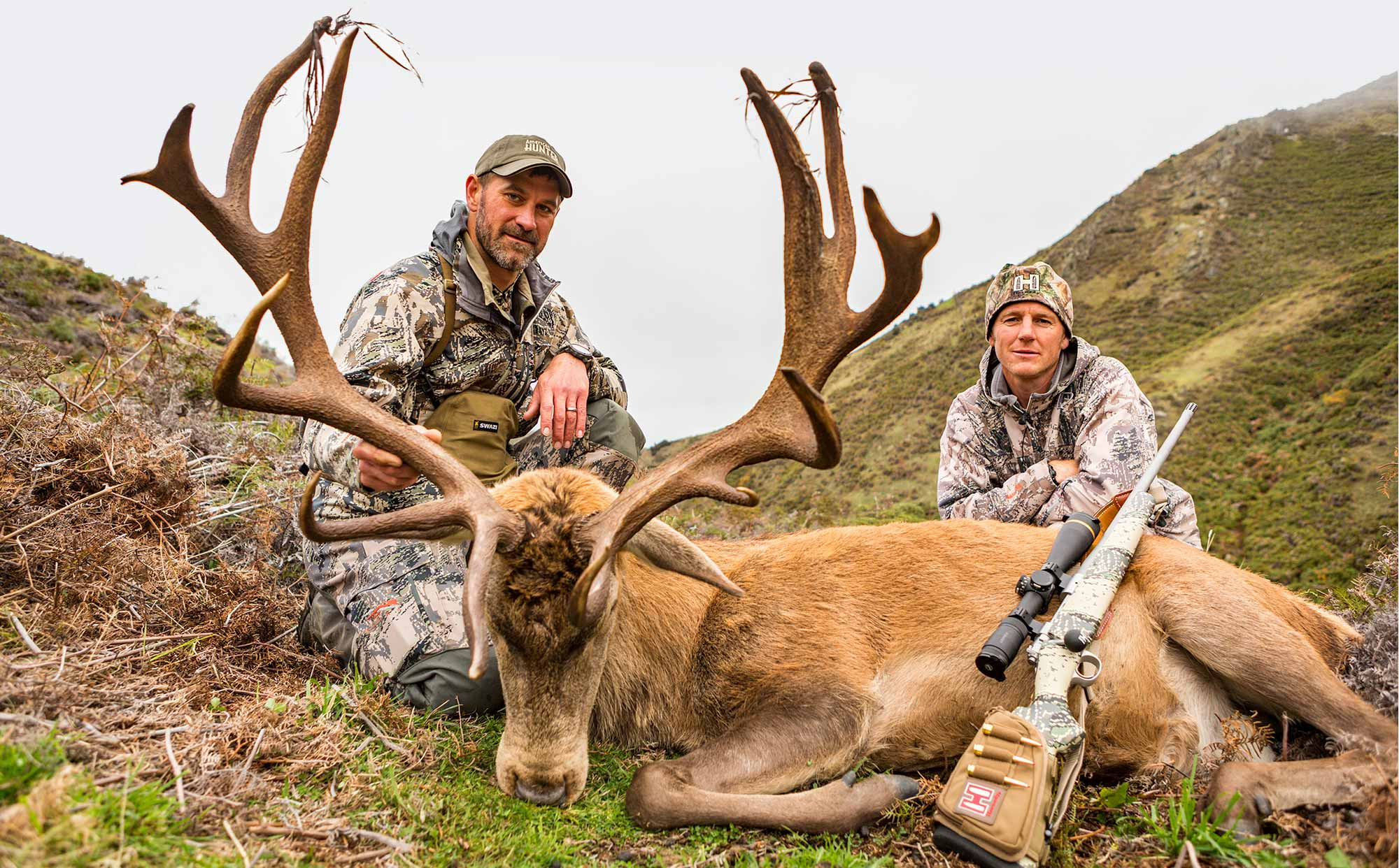 Guided Red Stag Hunting available at Glen Dene Hunting & Fishing, NZ