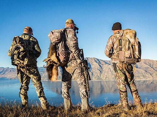 Guided Hunting for Groups, Glen Dene Hunting & Fishing New Zealand