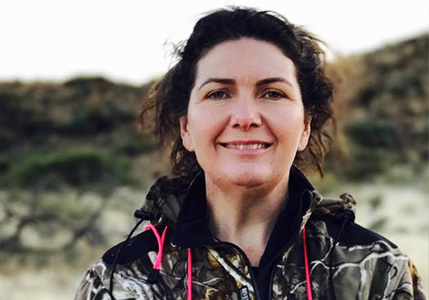 Sarah Burdon, Owner of Glen Dene Hunting & Fishing New Zealand