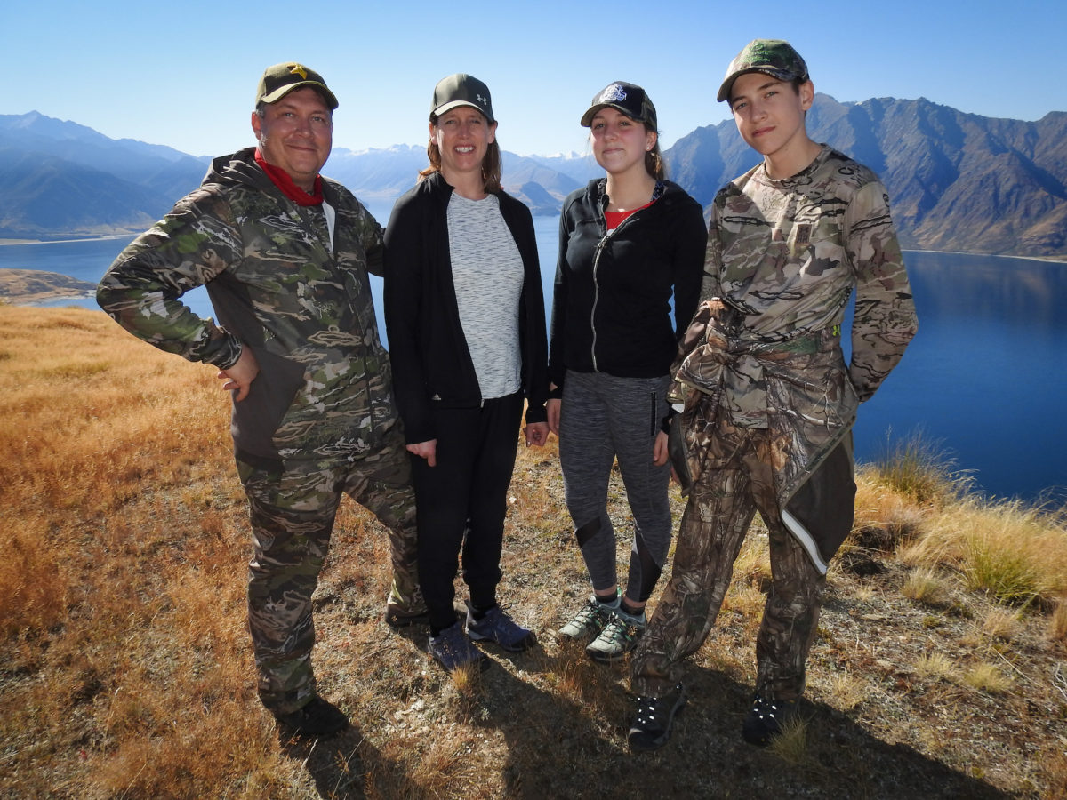 Family hunting, Glen Dene Hunting & Fishing New Zealand