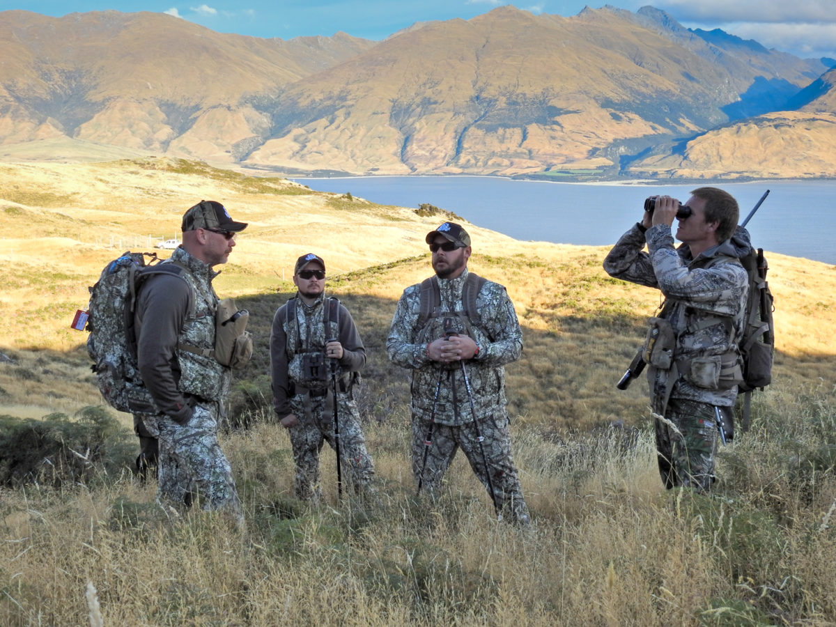 Guided Group Hunts, Glen Dene Hunting & Fishing New Zealand