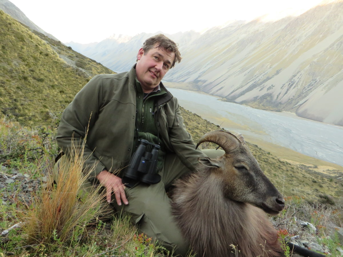 Guided bull tahr hunt, private block, Glen Dene Hunting & Fishing New Zealand