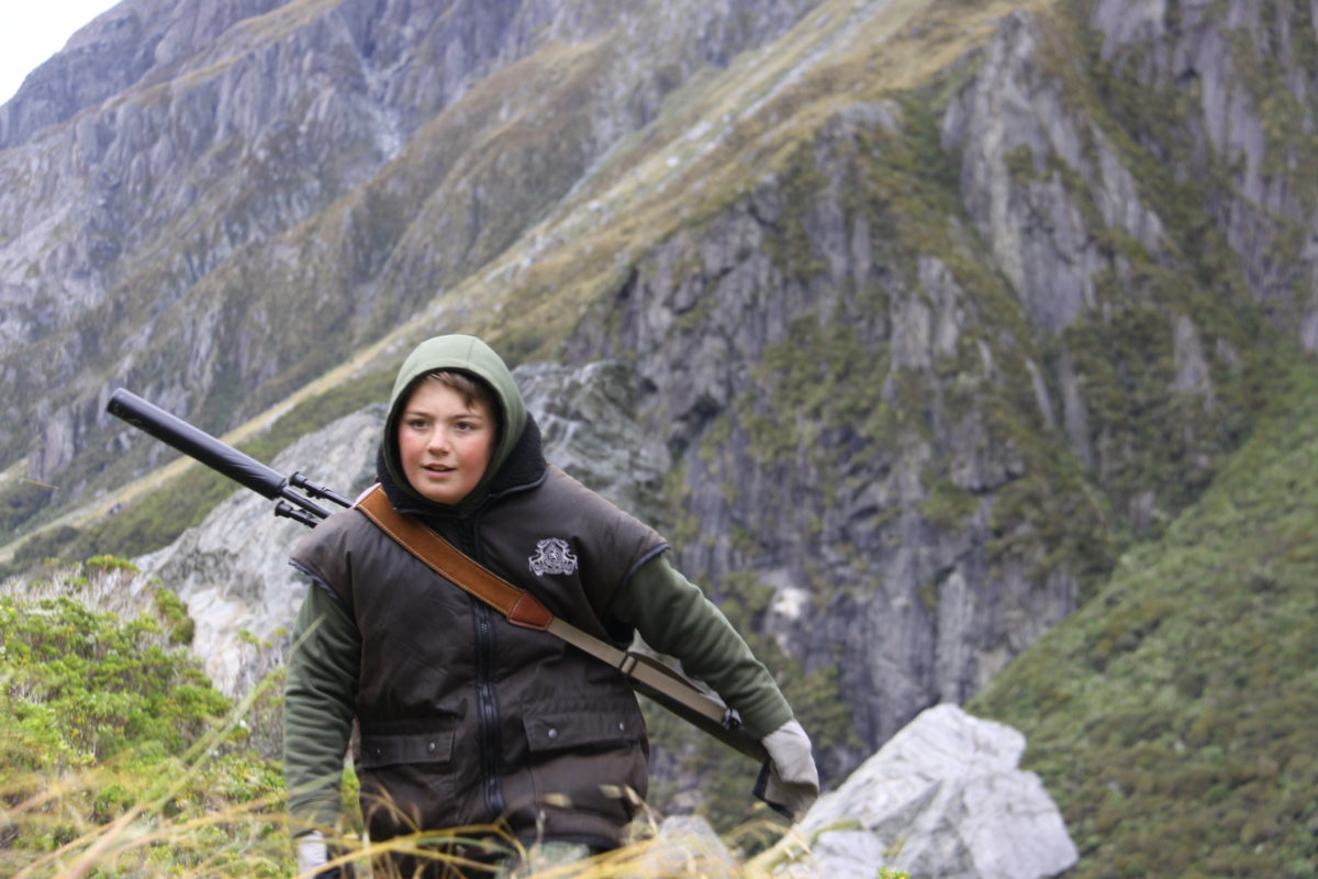 Kids hunting, Glen Dene Hunting & Fishing New Zealand