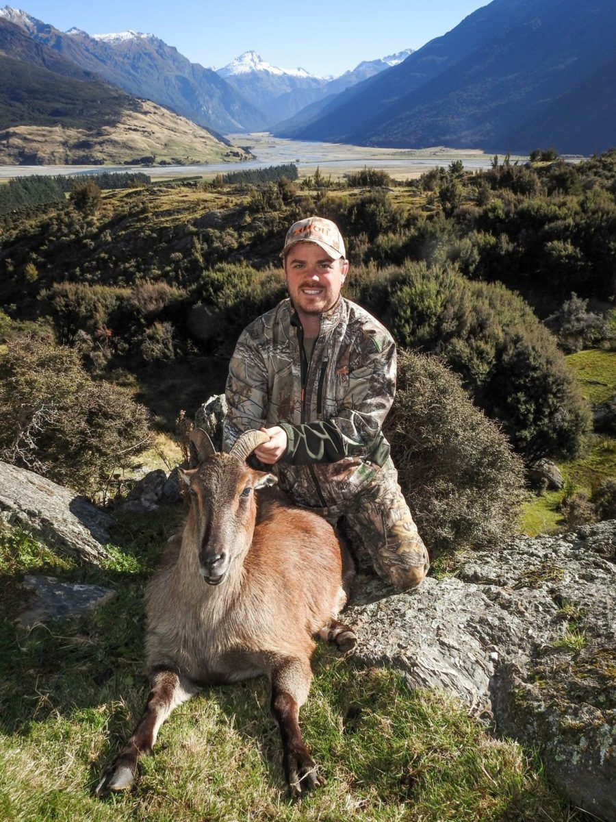 Tahr, Glen Dene Hunting & Fishing New Zealand