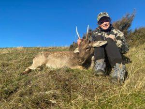 A successful hunt at Glen Dene Station